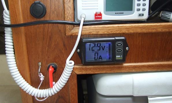 Batteriövervakning båt